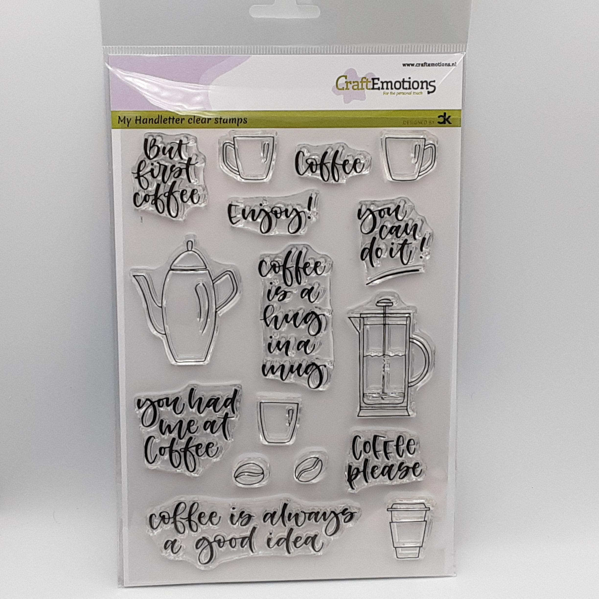 clear stamp coffee