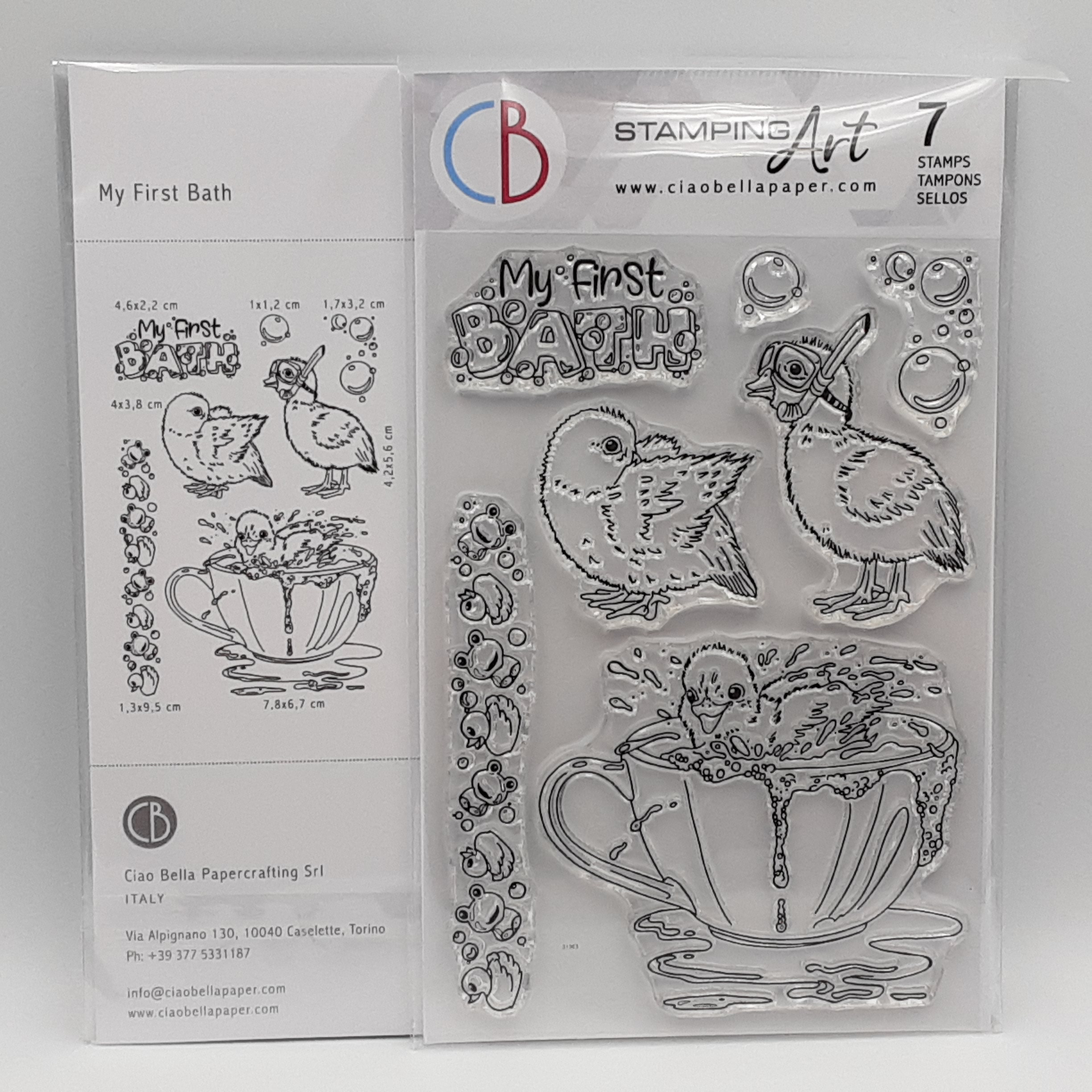 clear stamp set my first bath