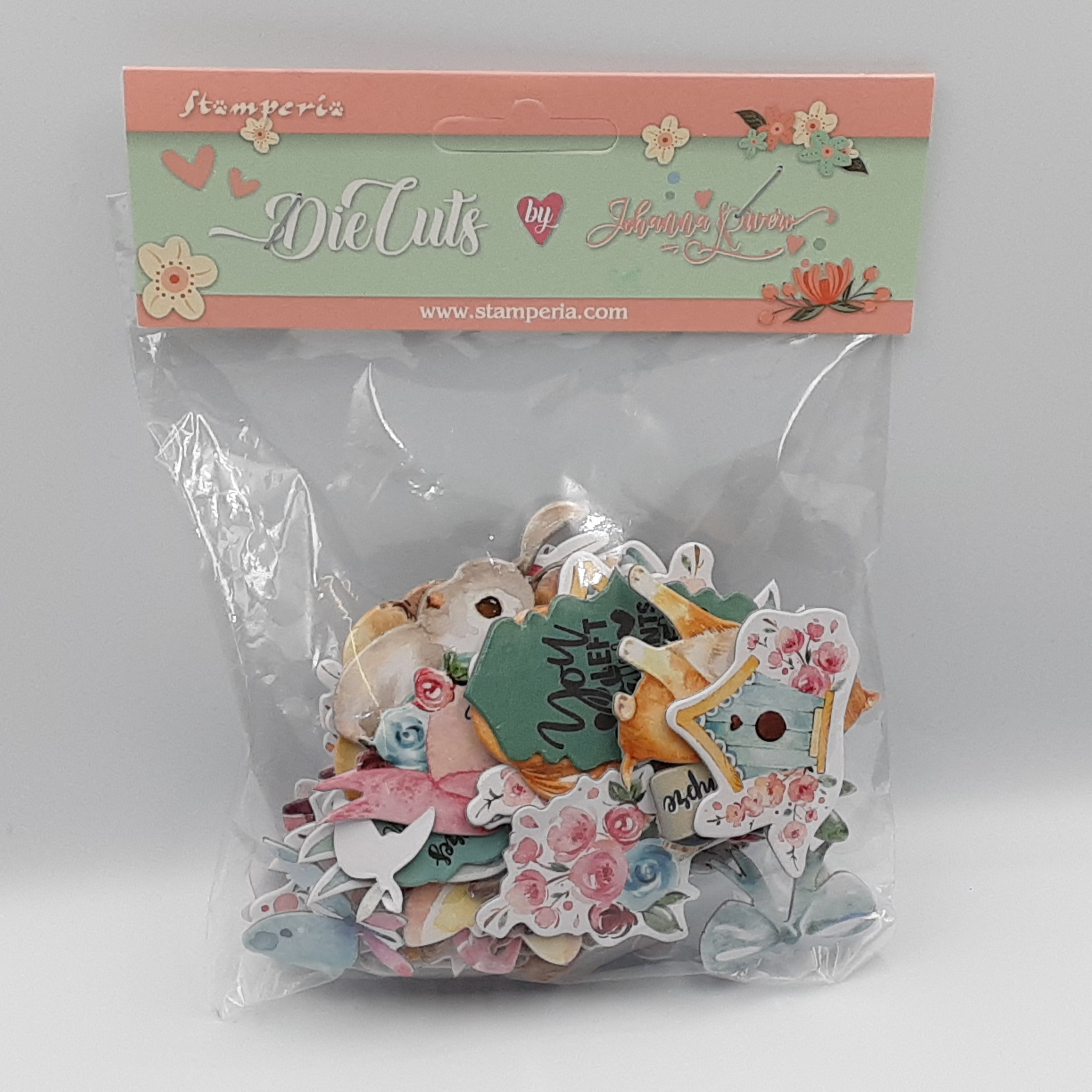 Circle of love cat's dogs and embellishments die cuts