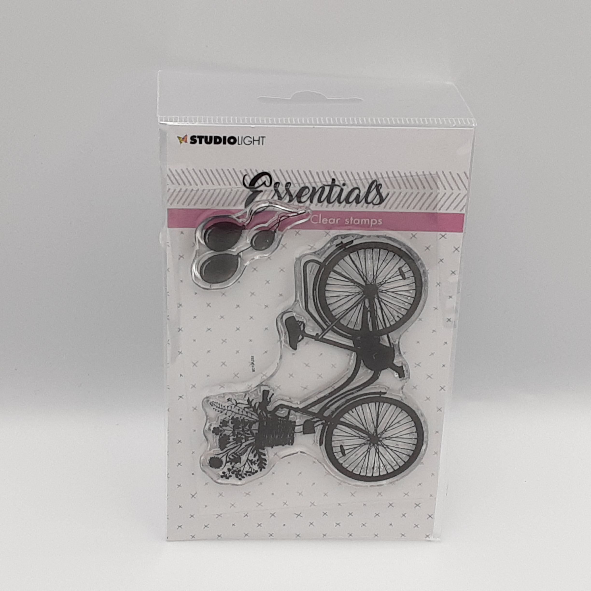 Bicycle clear stamp