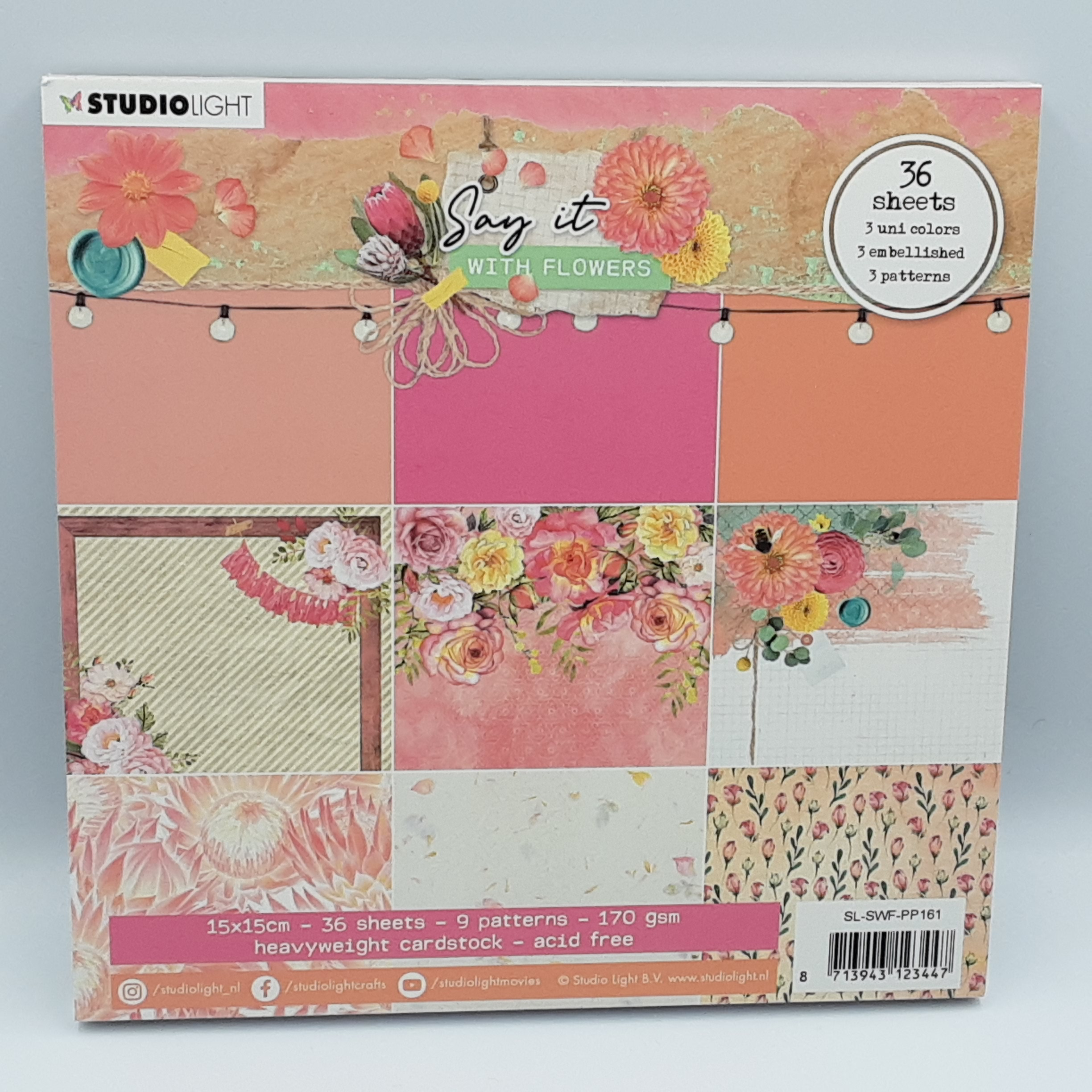 Say it with flowers  paperpack  161