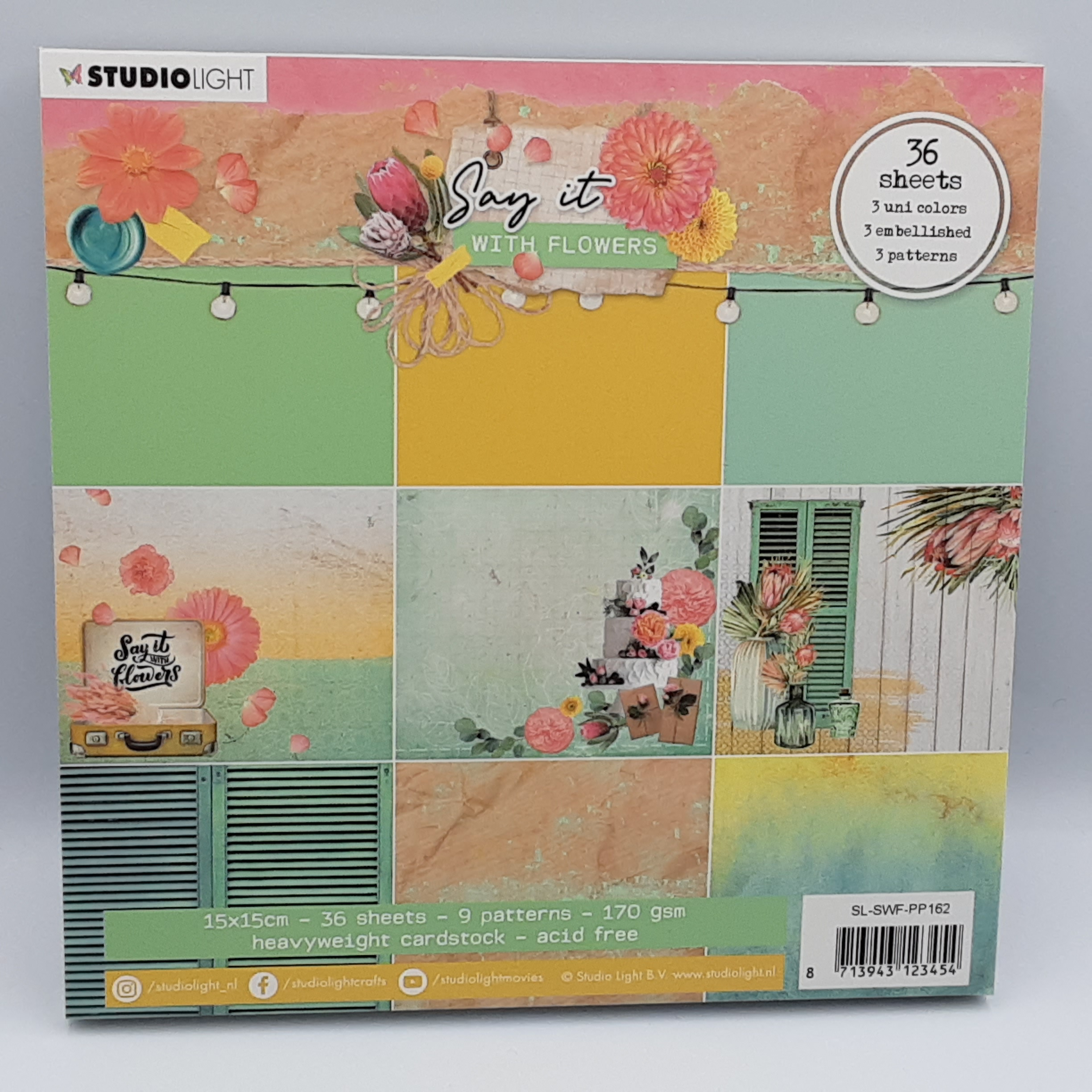 Say it with flowers paperpack  162