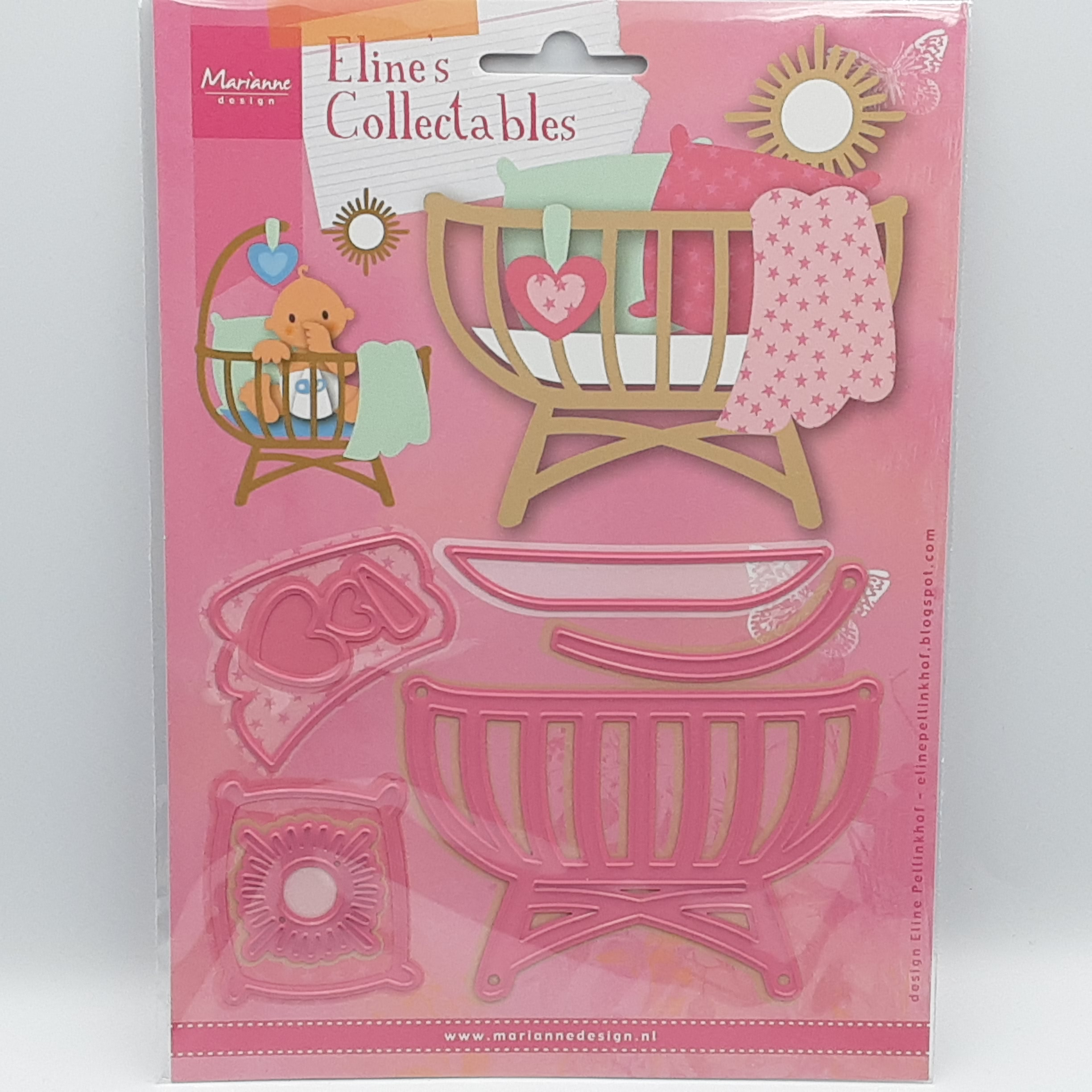 Eline's baby cot collectables