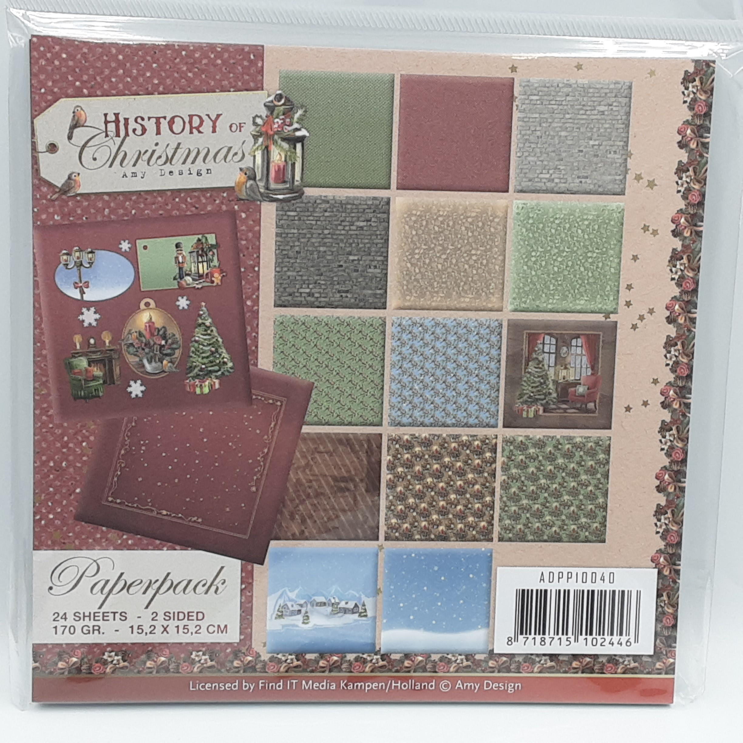 History of christmas paperpack