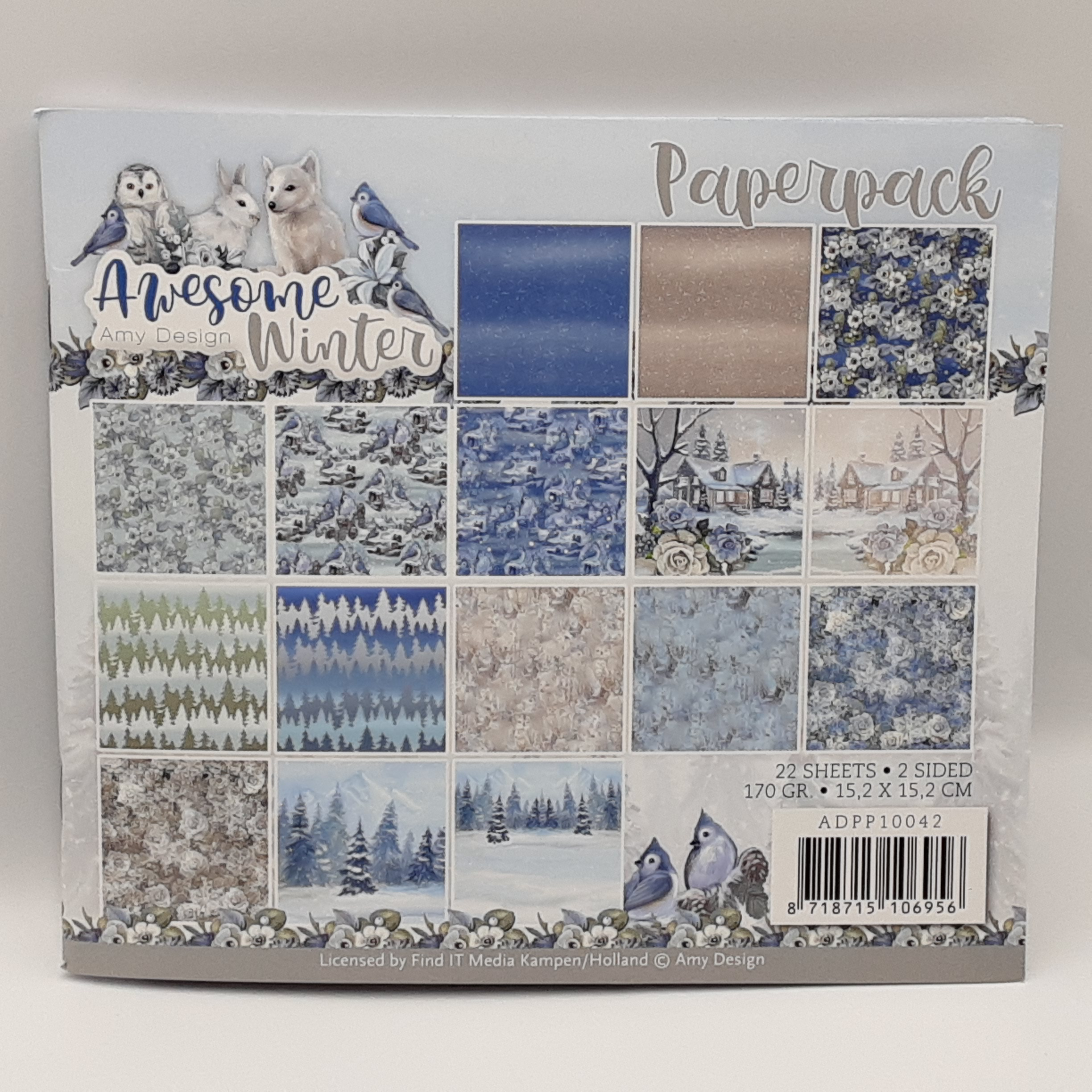Paperpack awesome winter
