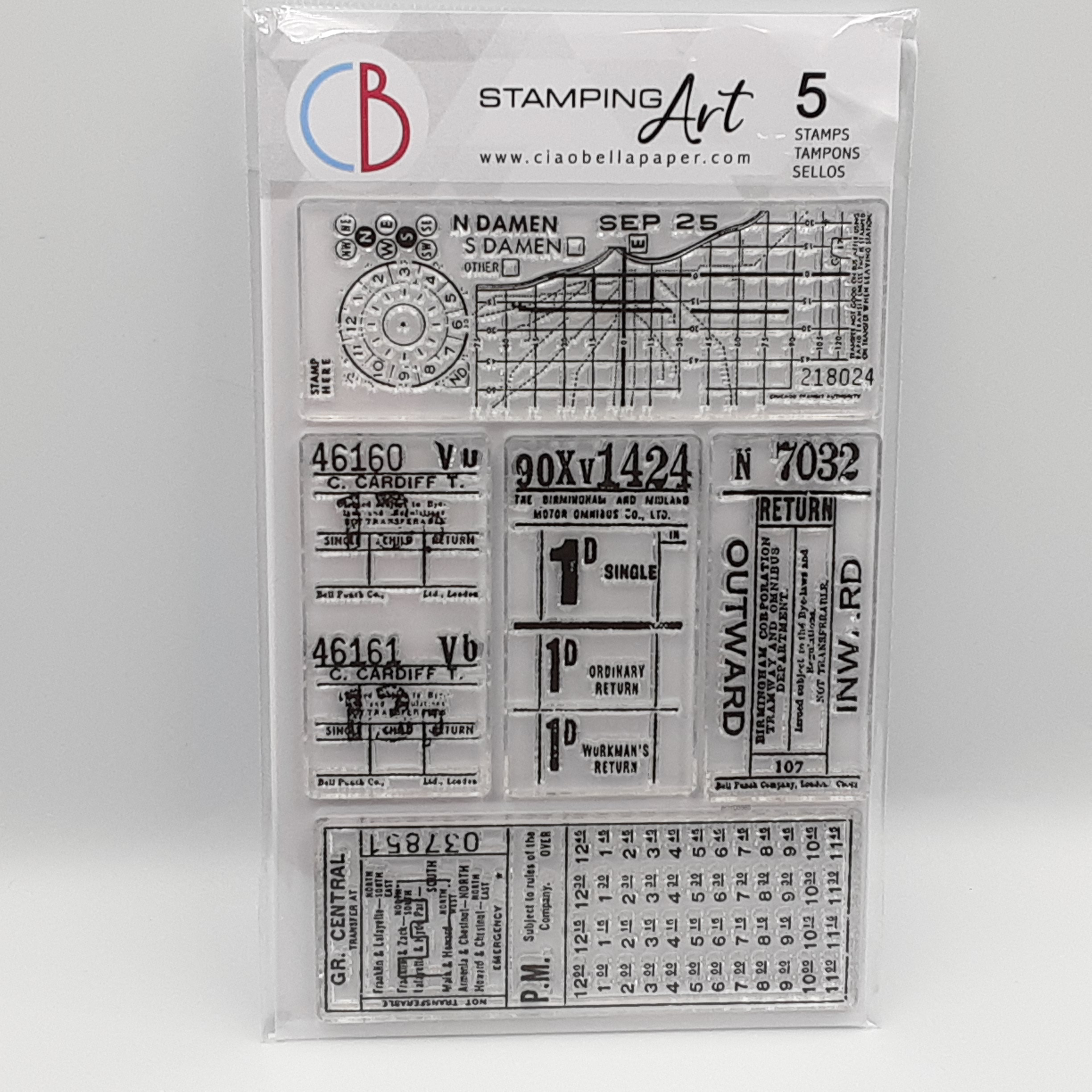 Tickets 2 clear stamp