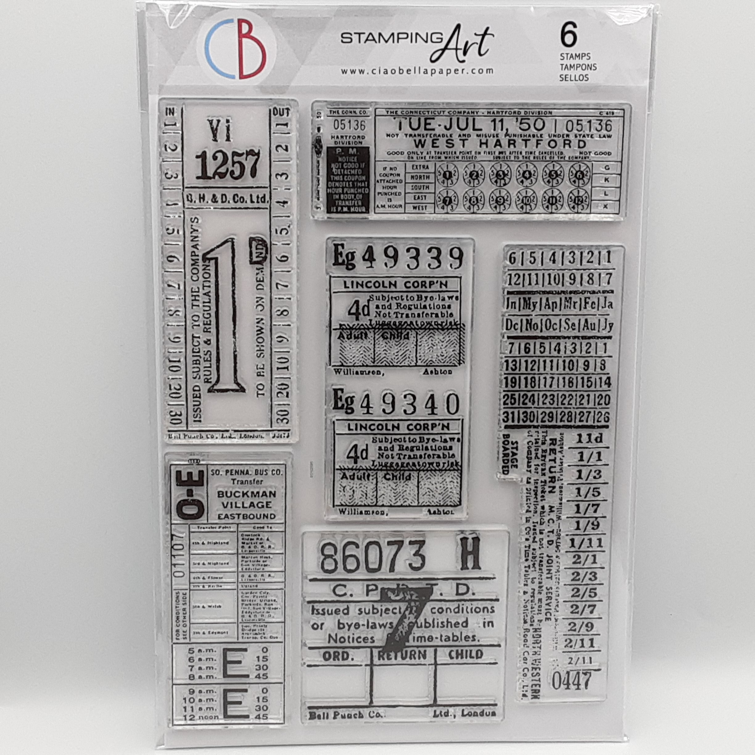 Tickets clear stamp