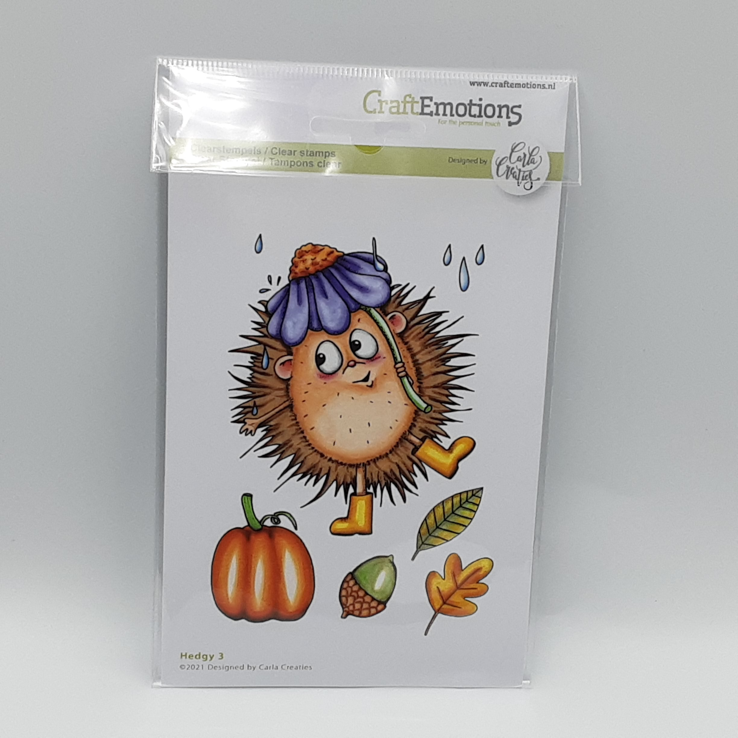 Clearstamp hedgy 3