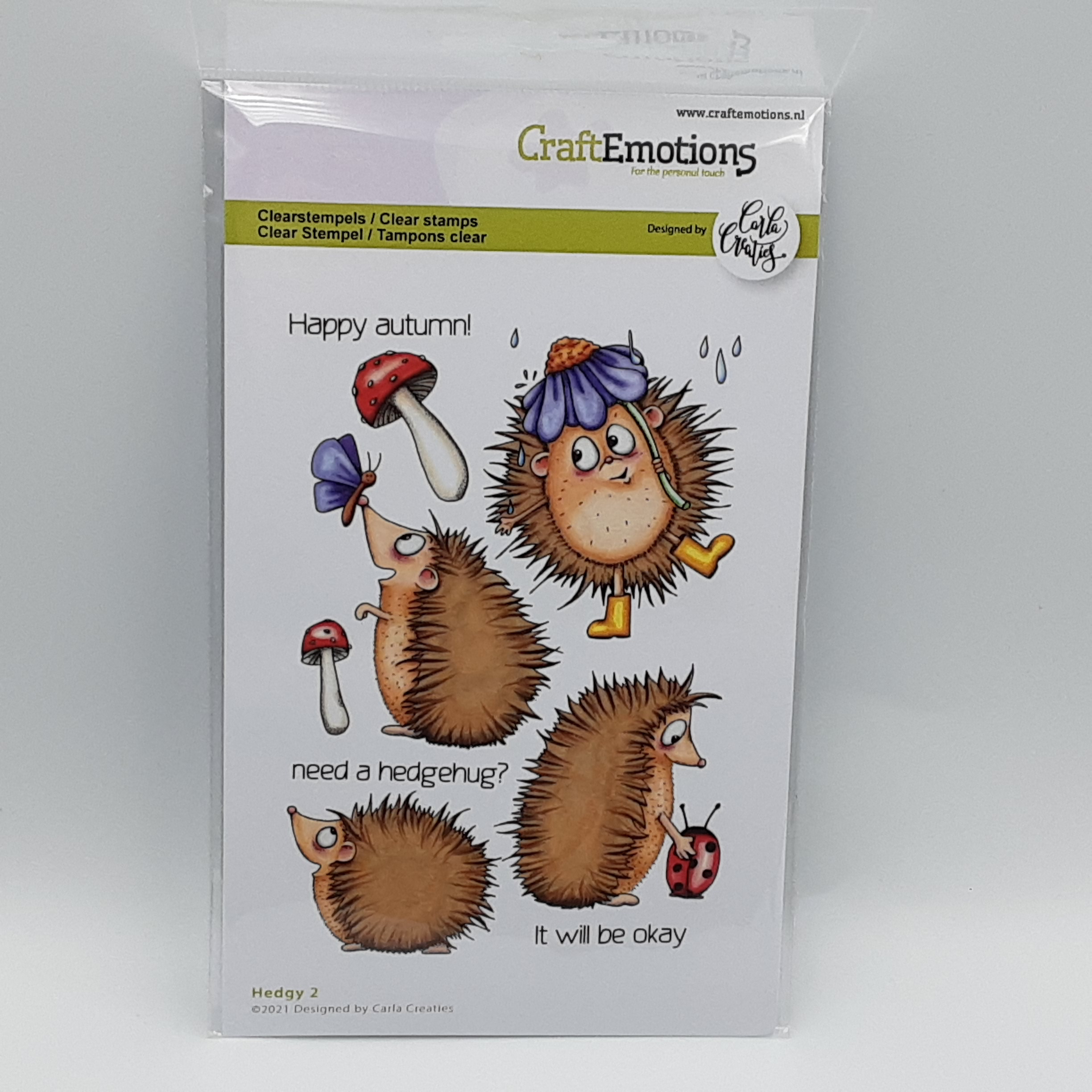 Clearstamp hedgy 2