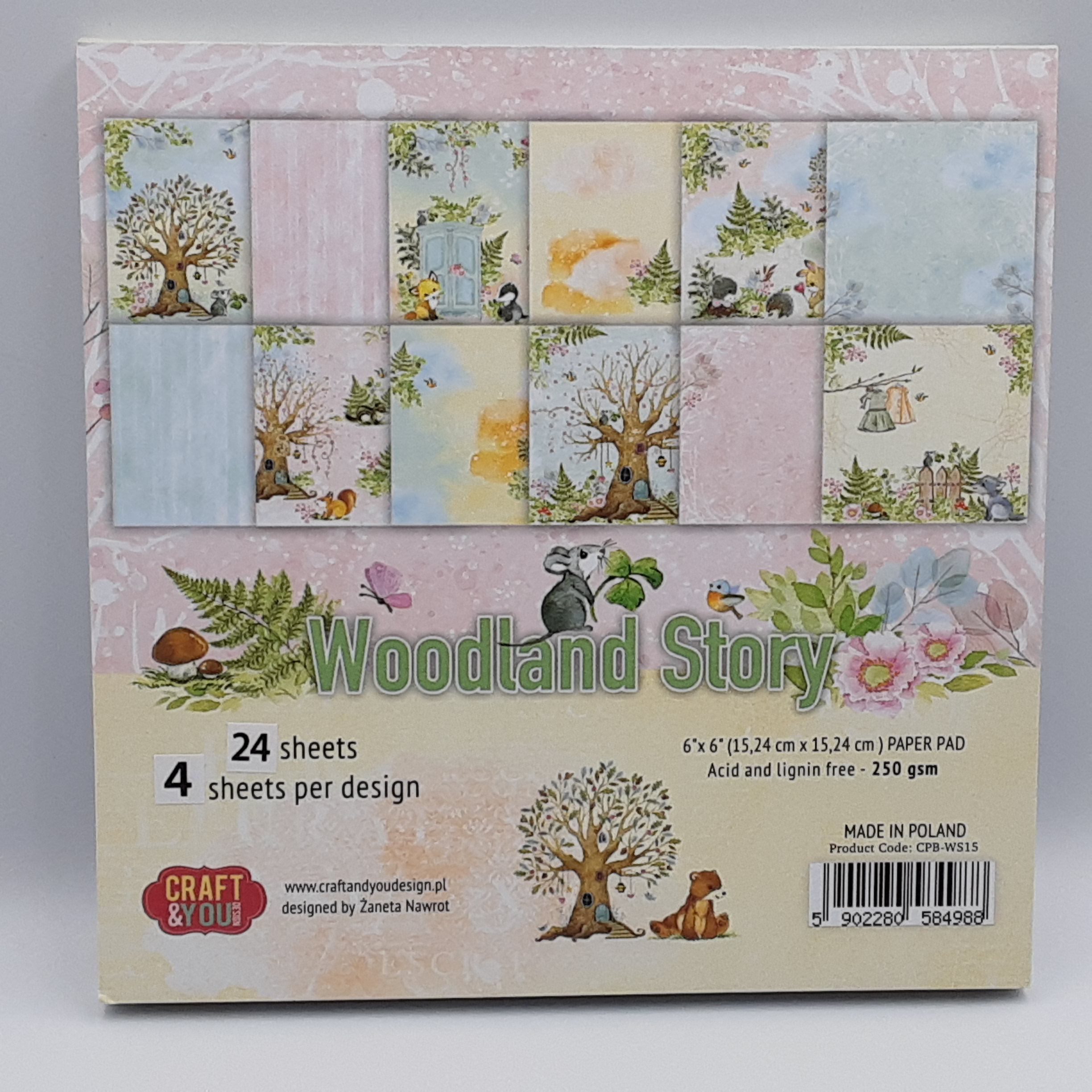 Woodland story paperpad 6
