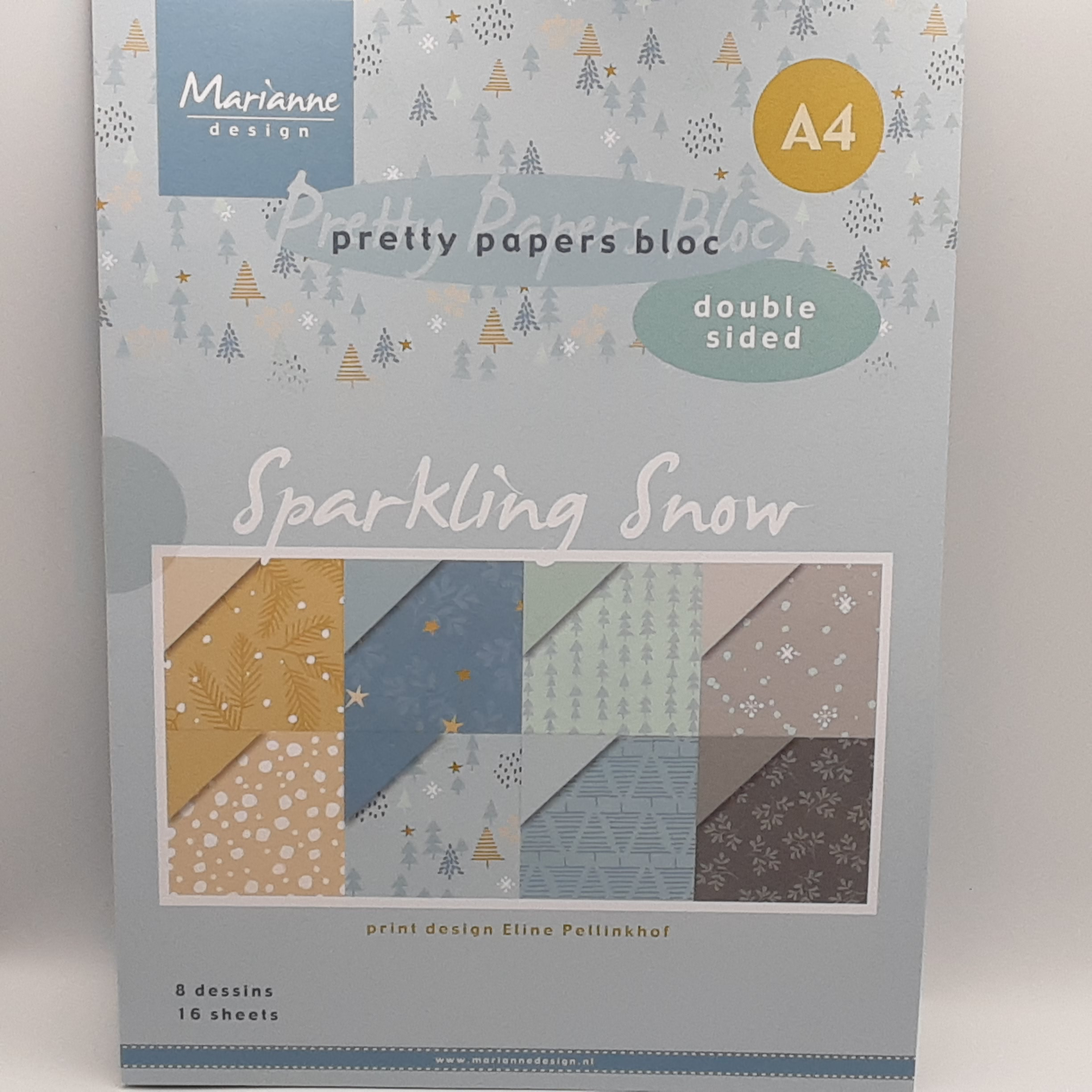 Paperpack sparkling snow A4