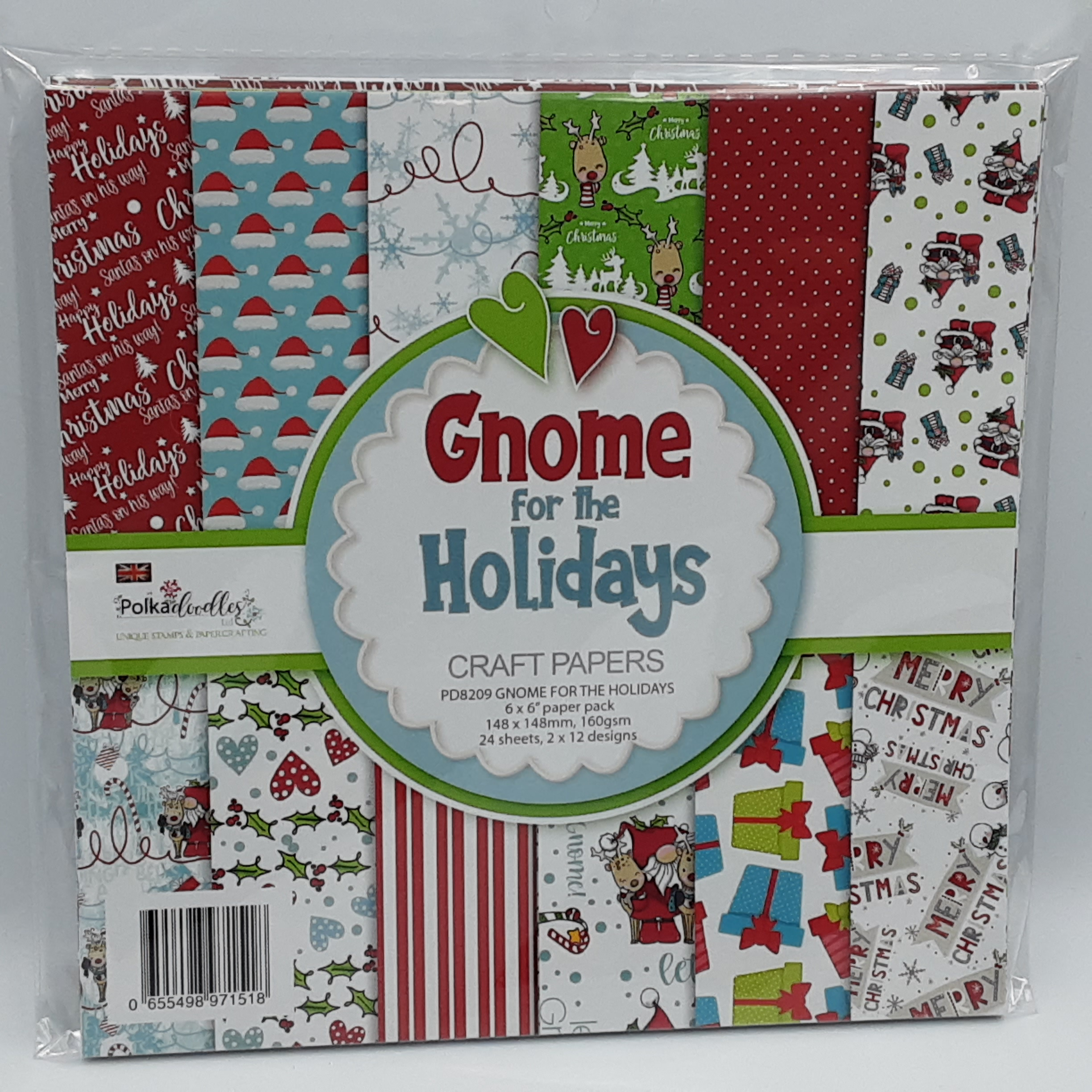 paperpack gnome for the hollidays