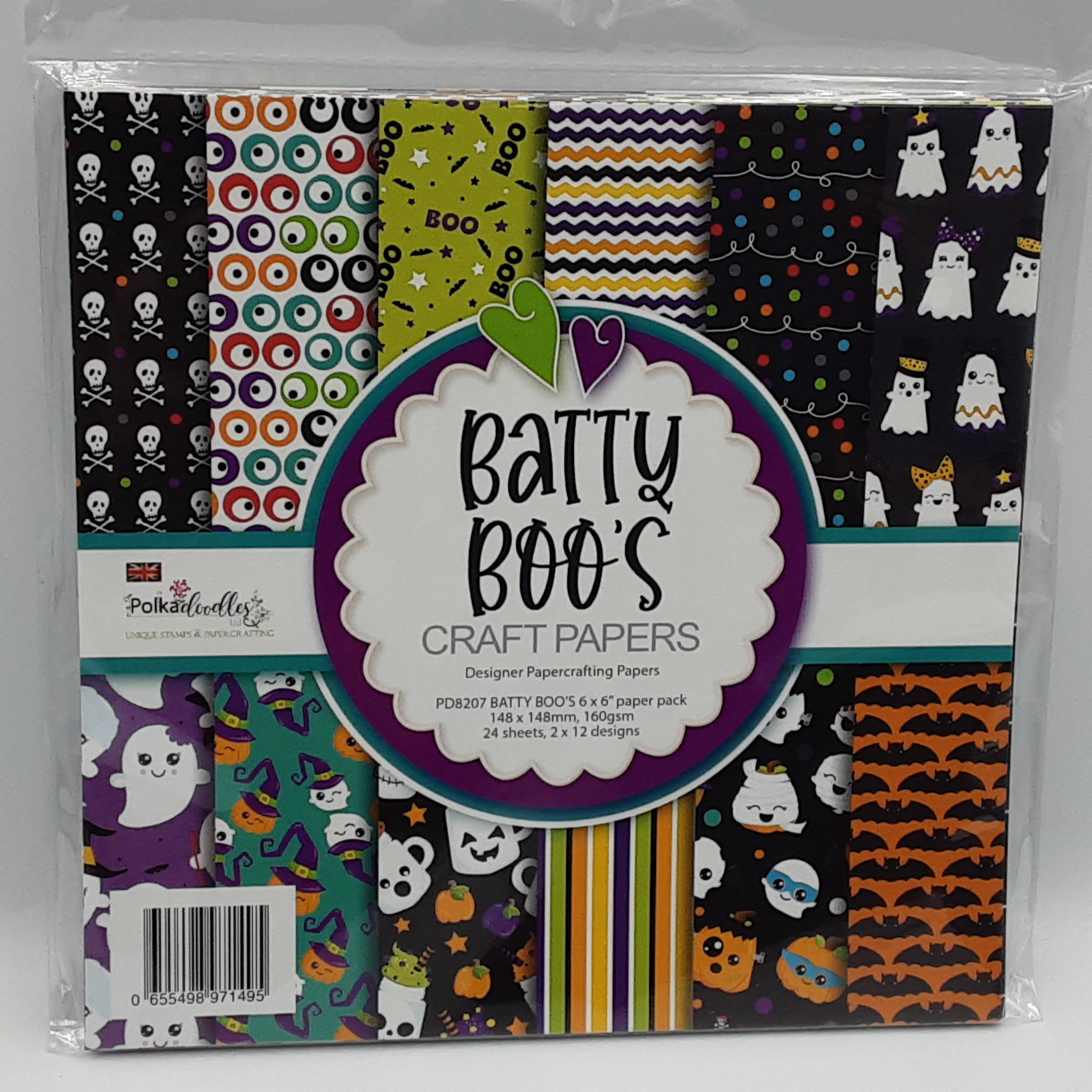batty boo's paperpack