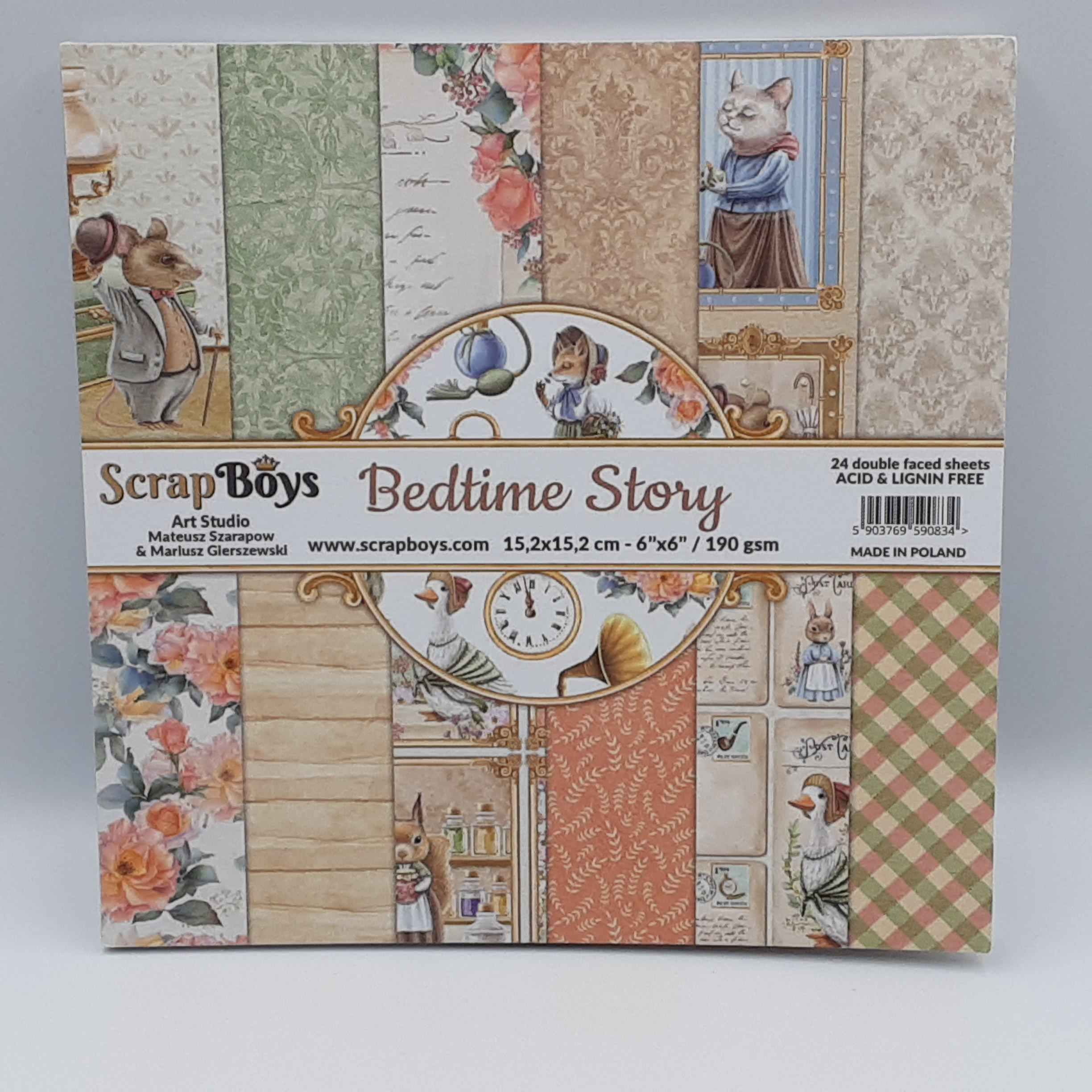 Bedtime story paperpad 6