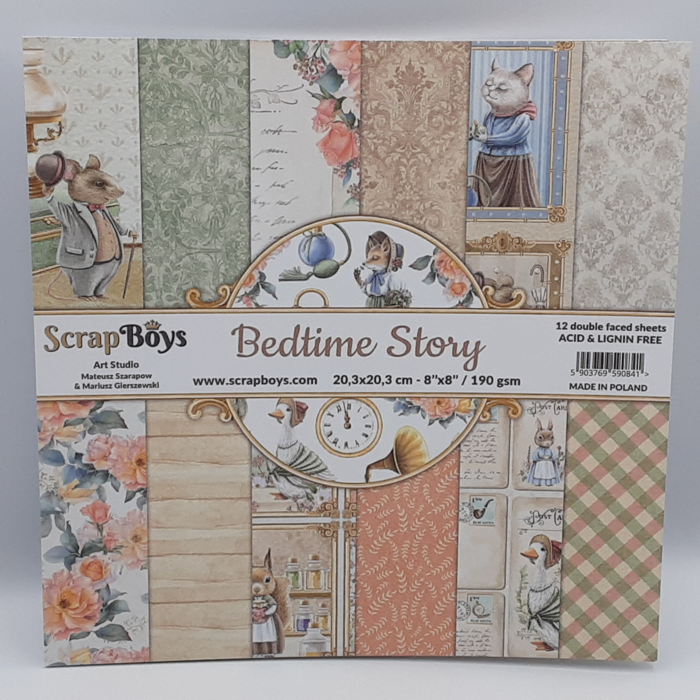 Bedtime story paperpad 8