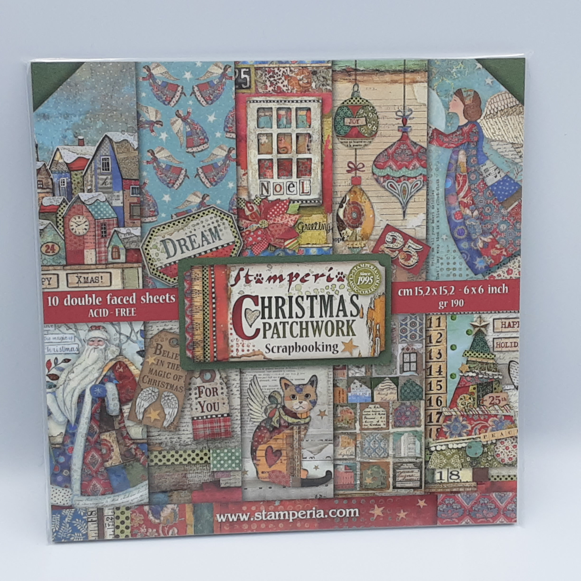Christmas patchwork 6