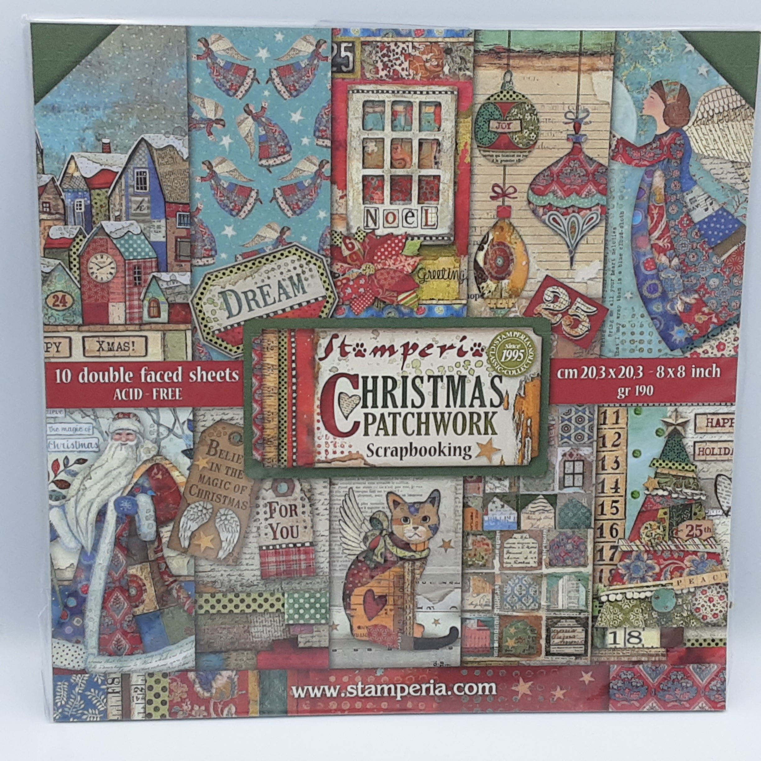 Christmas patchwork 8