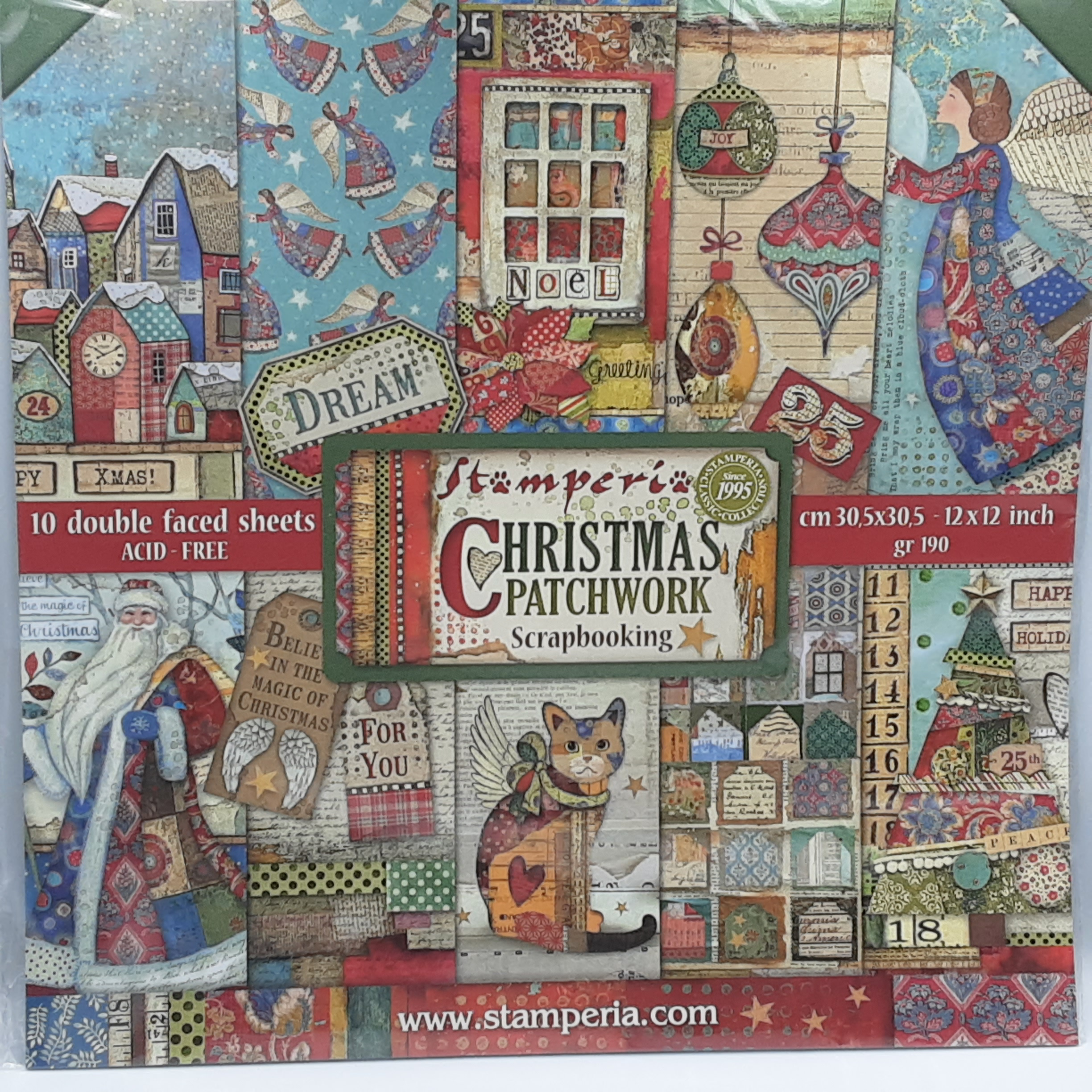 Christmas patchwork 12
