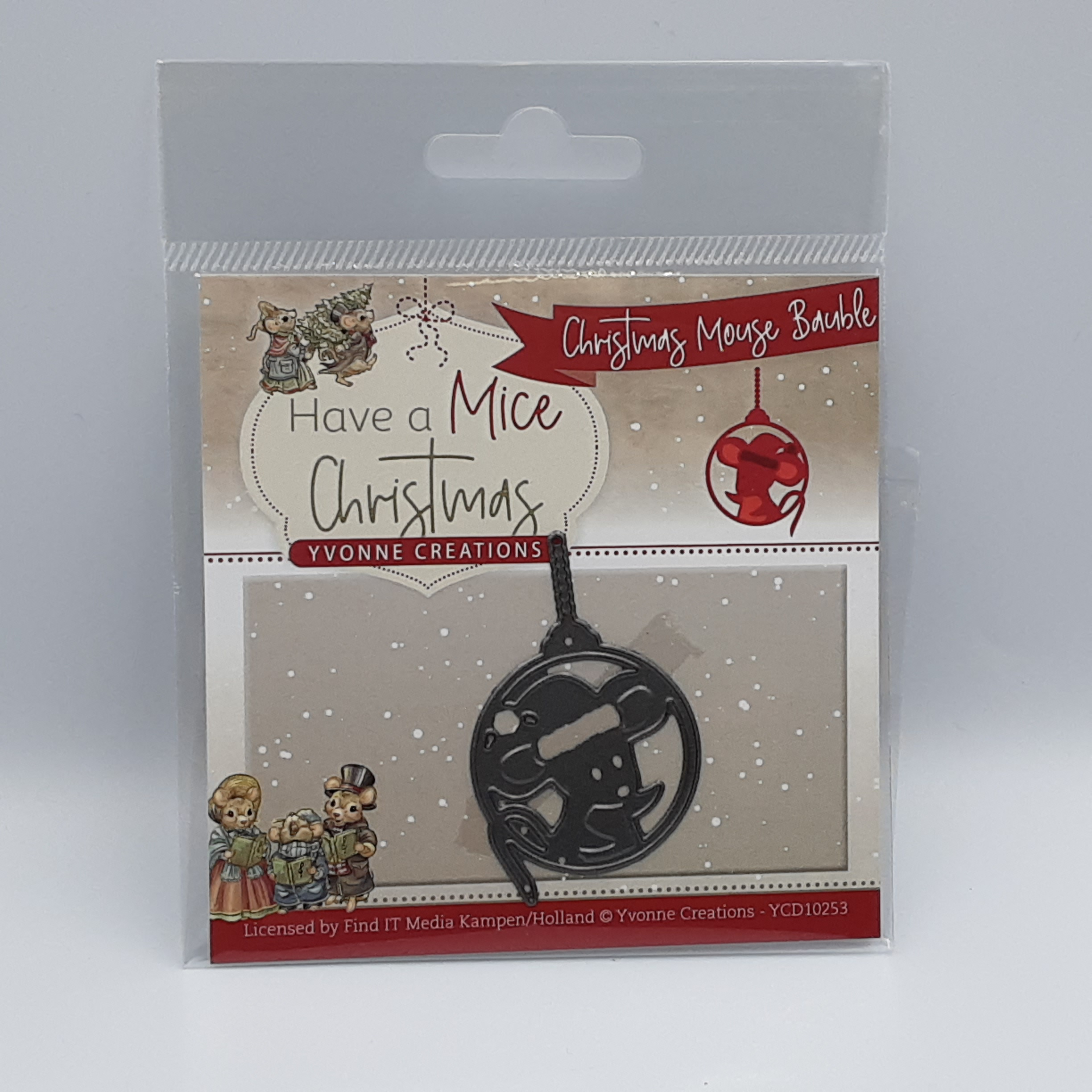 Christmas mouse bauble have a mice Christmas