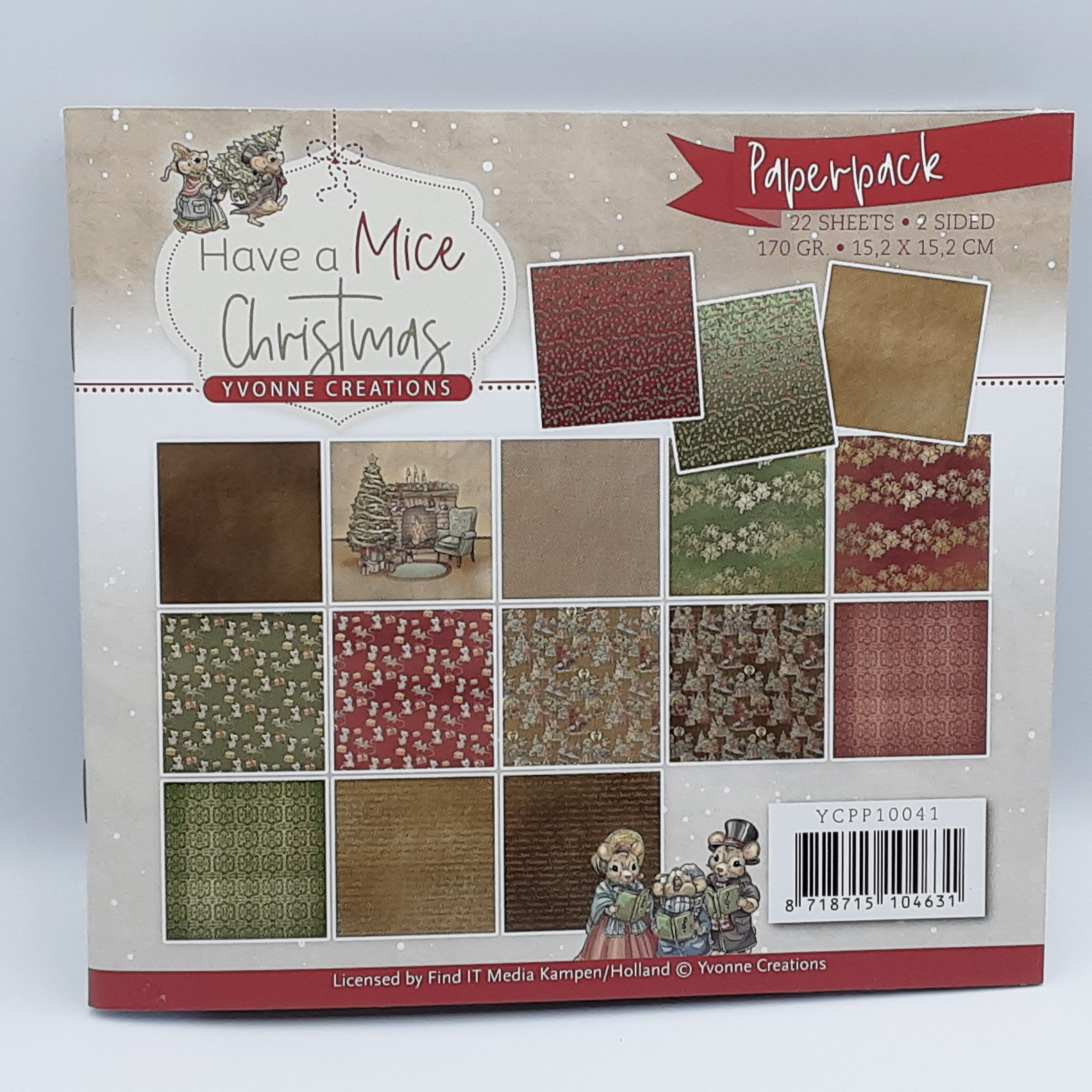 Have a mice Christmas paperpack