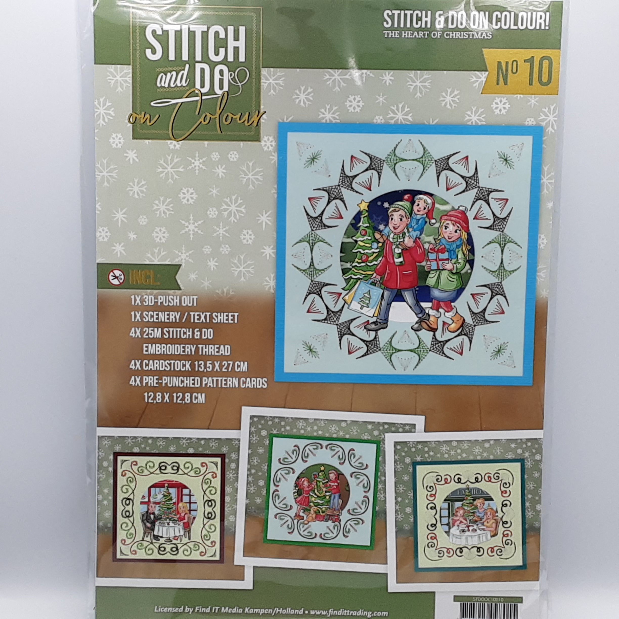 Stitch and do on color 10