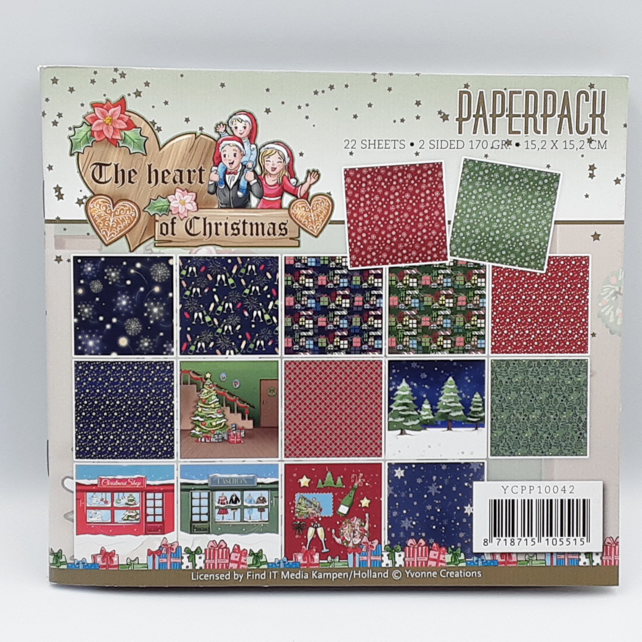 The heart of christmas paperpack