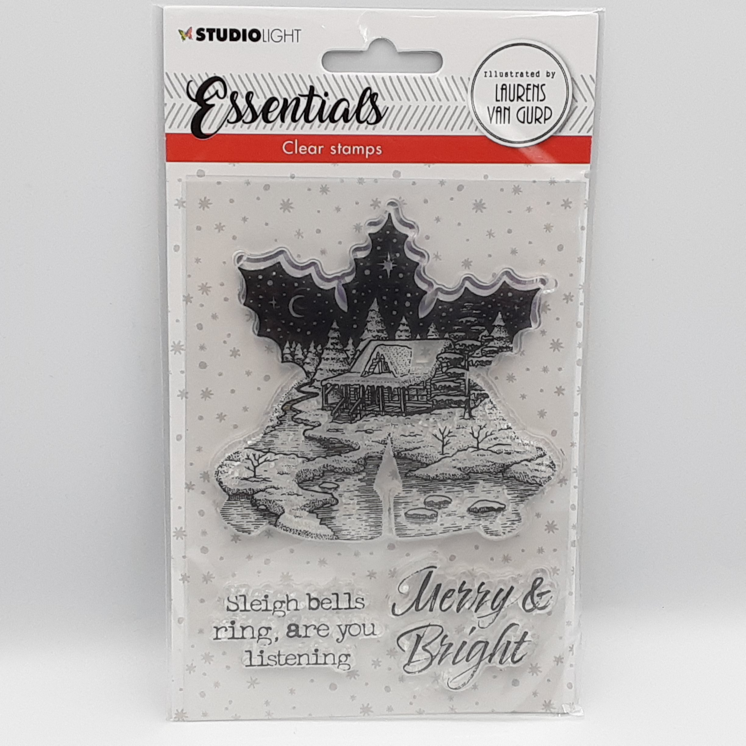 Christmas bells essentials clear stamp