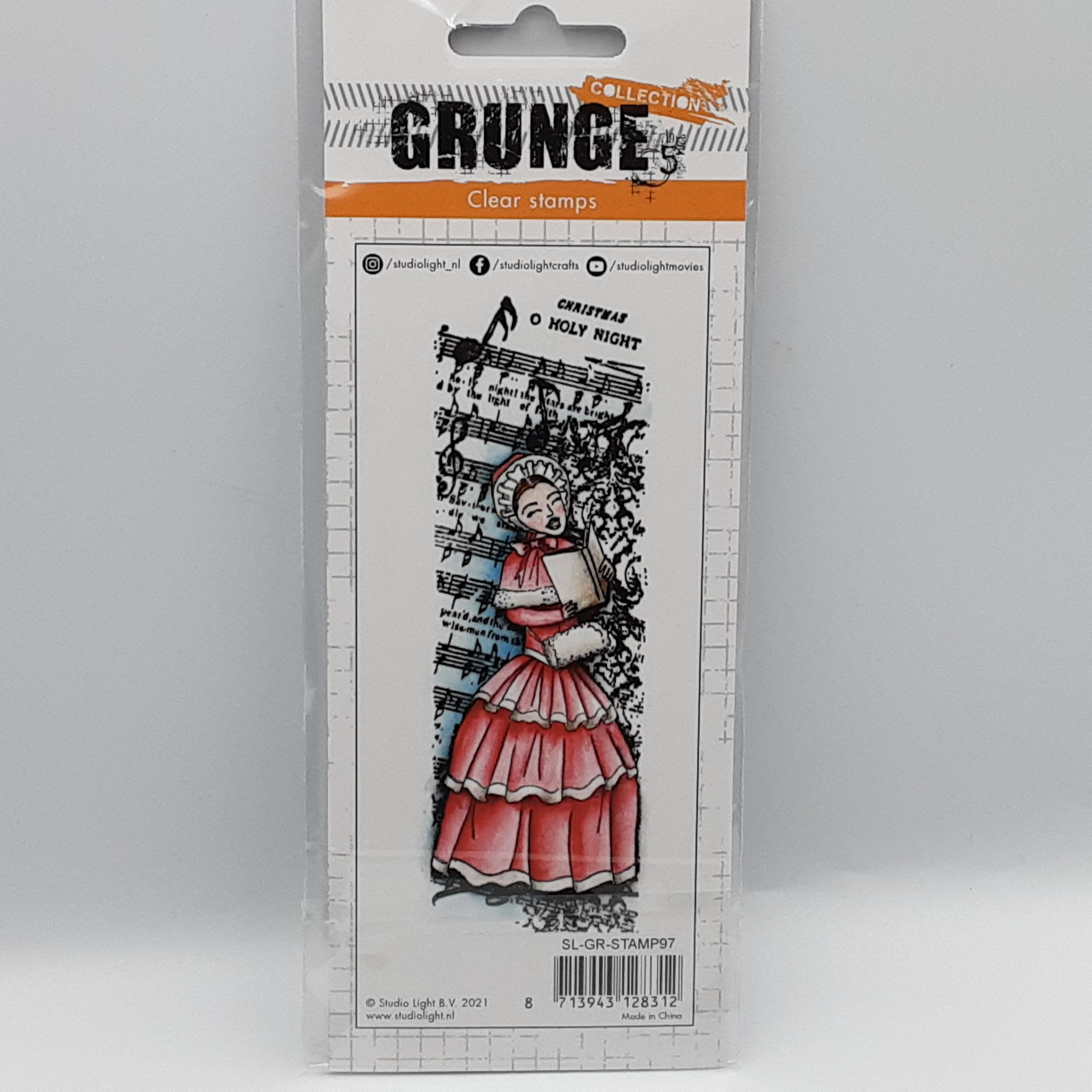 Grunge collection nr 97 clear stamp