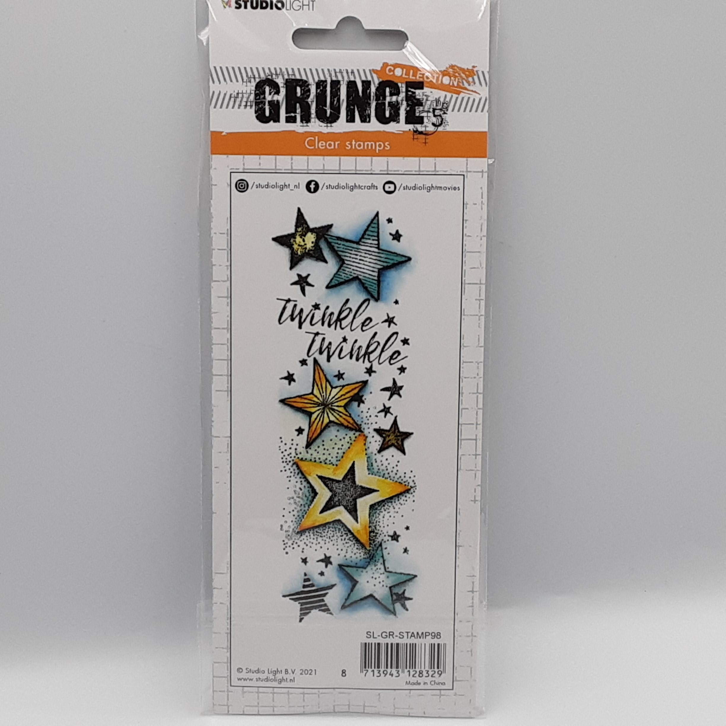 Grunge collection nr 98 clear stamp