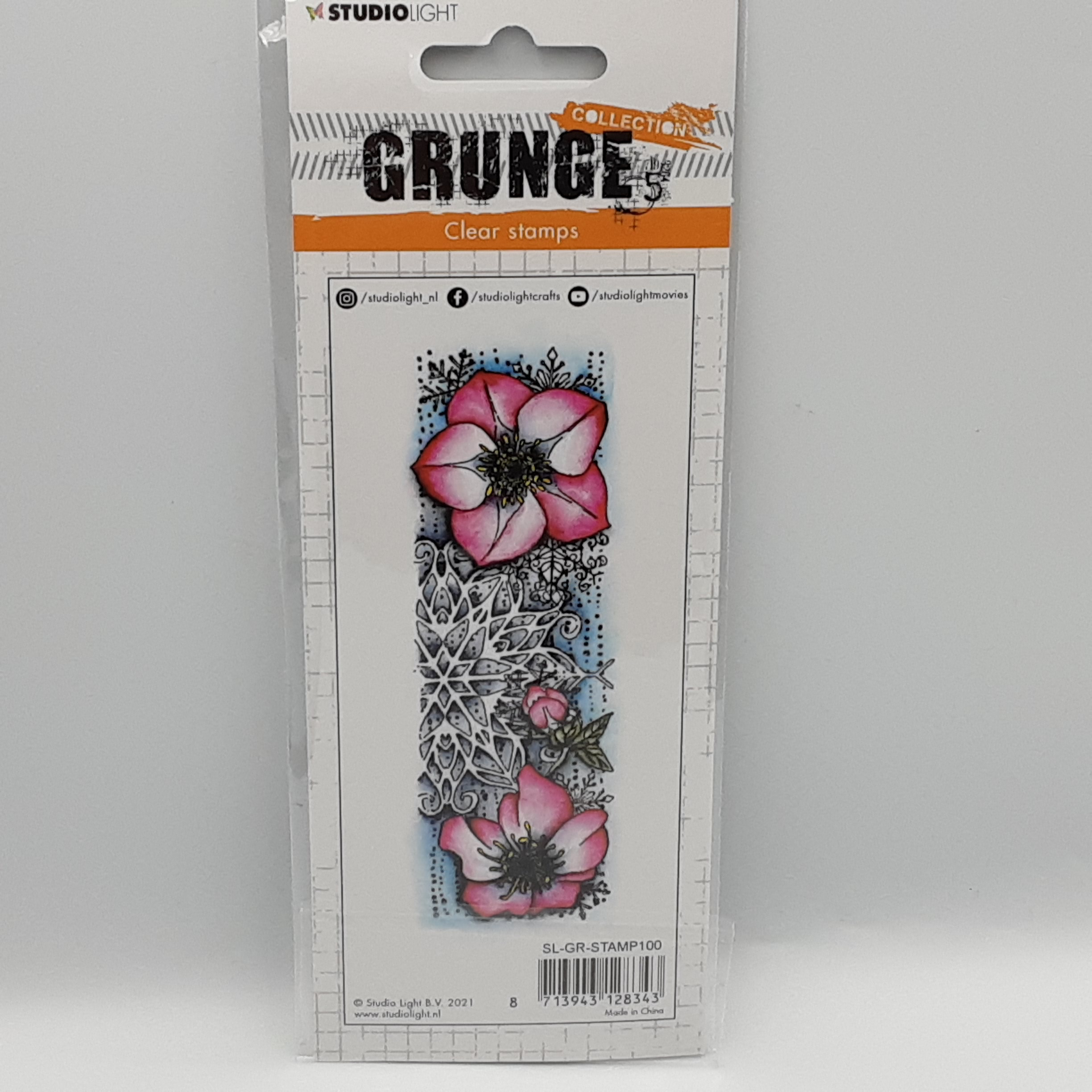 Grunge collection nr 100 clear stamp
