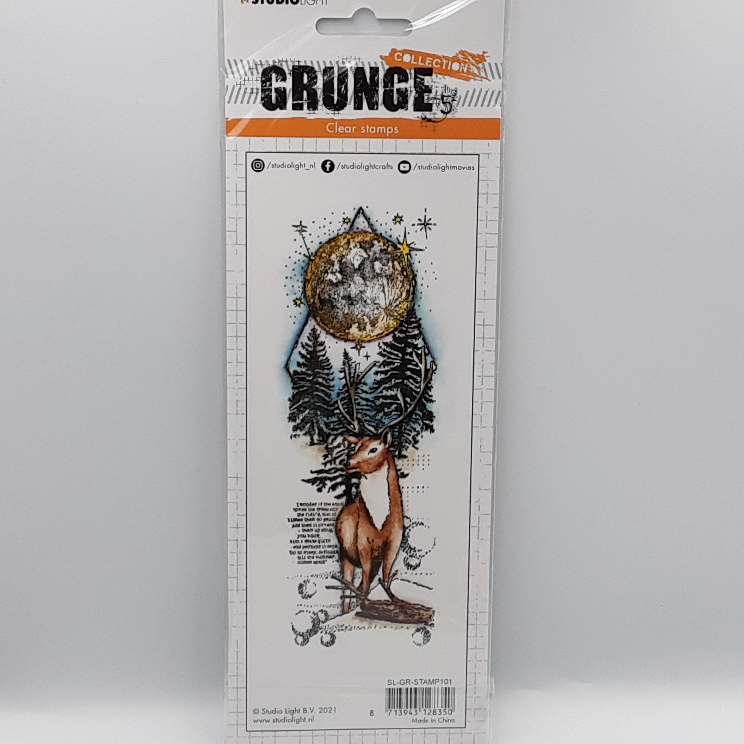 Grunge collection nr 101 clear stamp