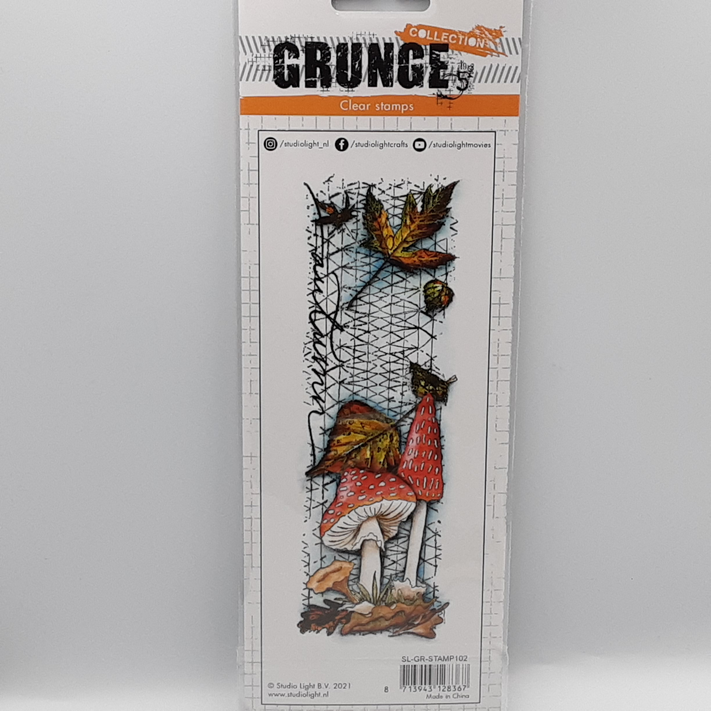 Grunge collection nr 102 clear stamp