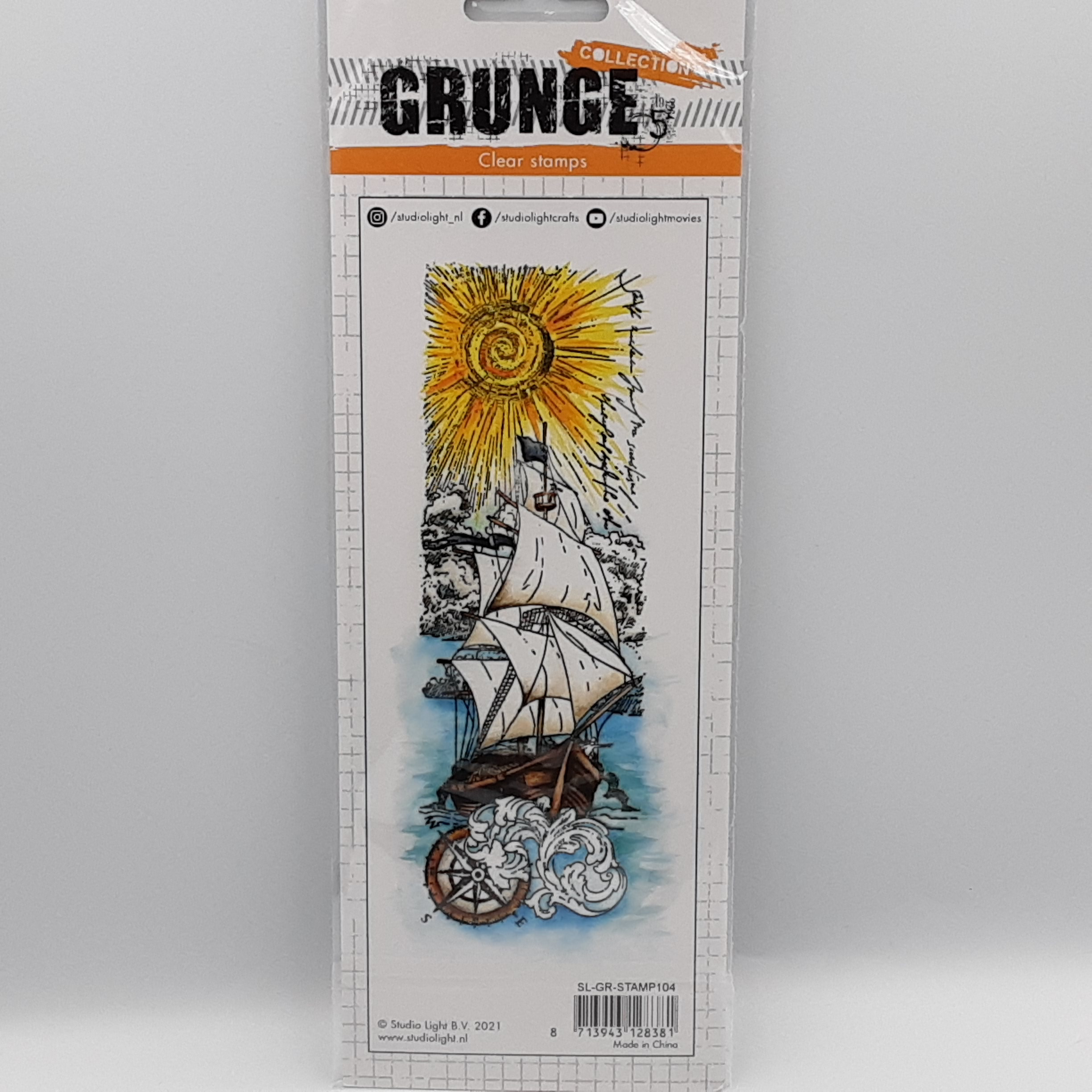 Grunge collection nr 104 clear stamp
