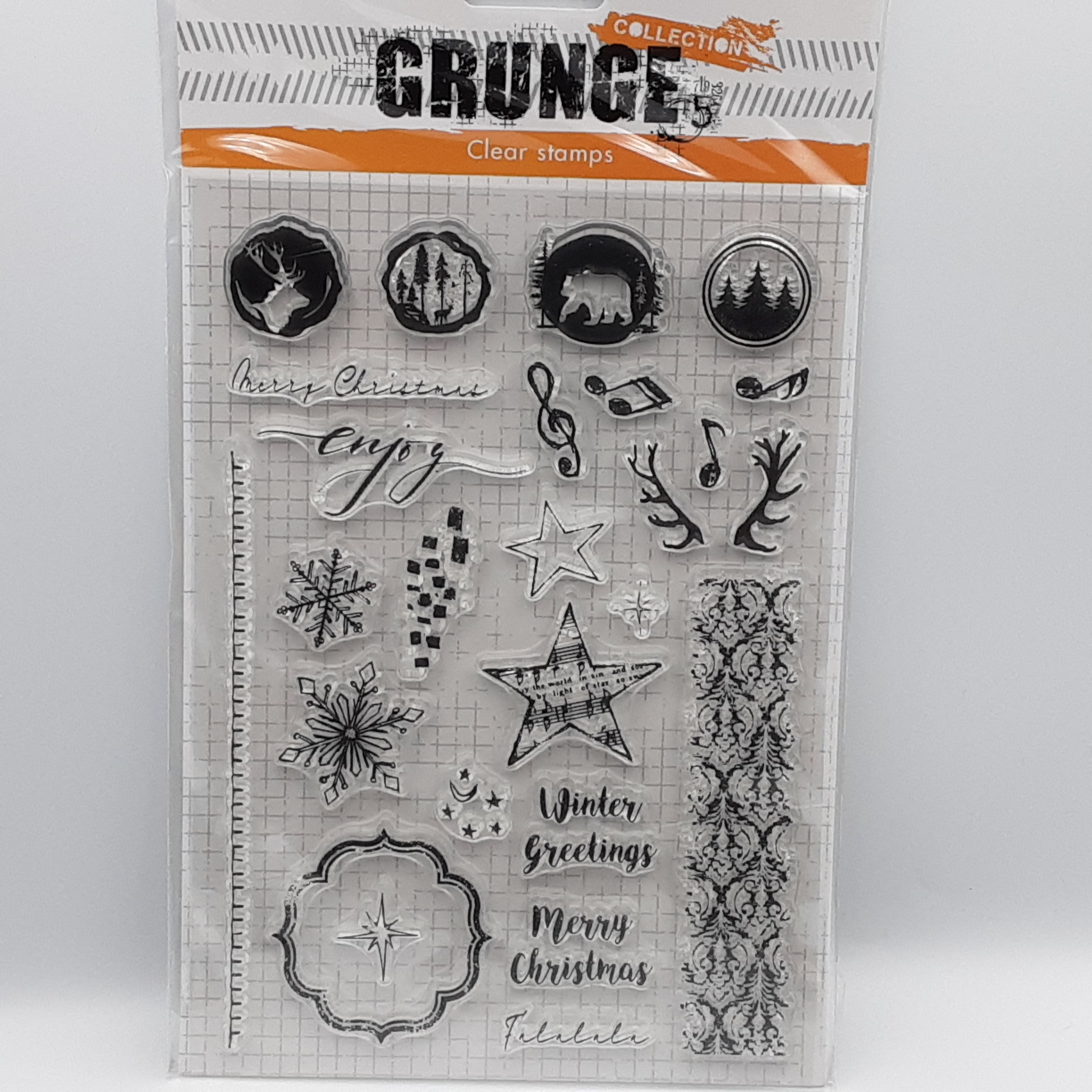 Grunge collection nr 106 clear stamp